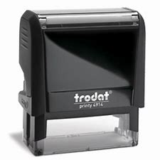 Trodat 4914 Now Replaces Ideal 200.  The Trodat and Trodat self-inking rubber stamps work and feel as great